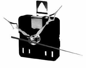 Aa Cell Mini Quartz Battery Clock Movements
