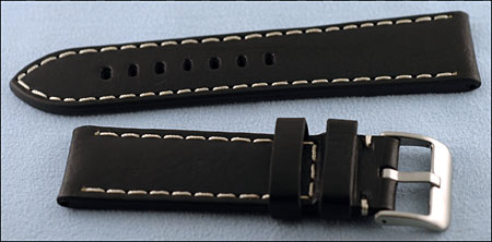 de340188c59 Men s Leather Straps with White Stitching