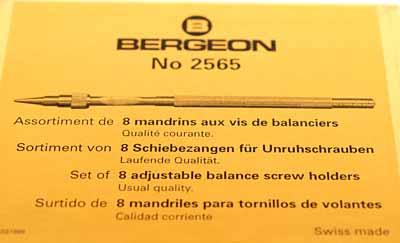 Bergeon 2565 Set of Balance Screw Holders