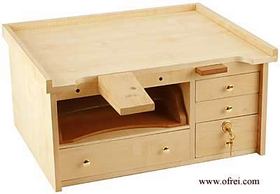Woodwork Portable Jewelry Bench PDF Plans