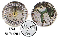 MOVIMIENTO ISA CAL 9232//1920 CRONOGRAFO.