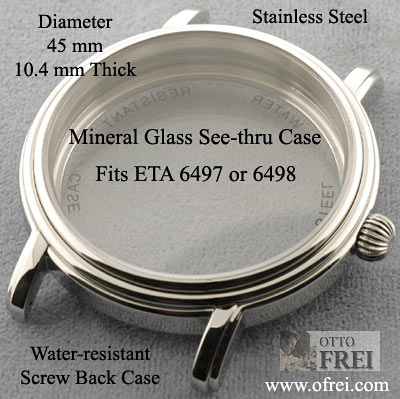 Dial Front Glass Cover