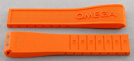 Omega Rubber Deployment Buckle And Clasp Straps