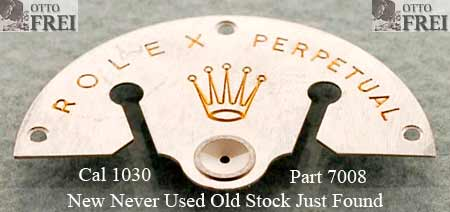 Genuine Parts for Rolex® Movements